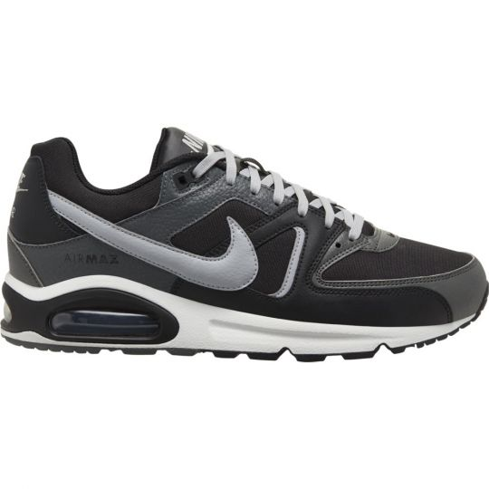 Nike Air Max Command Leather Sneaker Zwart Grijs