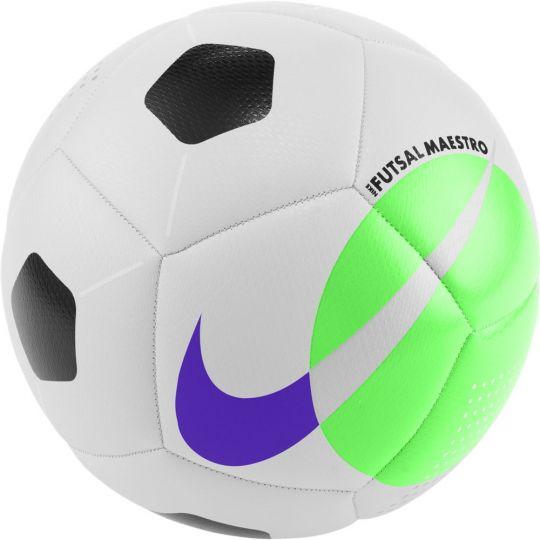 Nike Futsal Maestro Zaalvoetbal Maat 5 Wit Groen Zwart Blauw