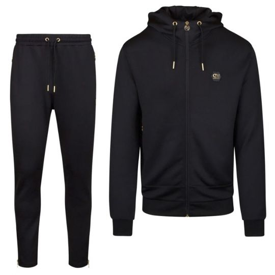 CRUYFF Augusti Sweat Full-Zip Trainingspak Zwart