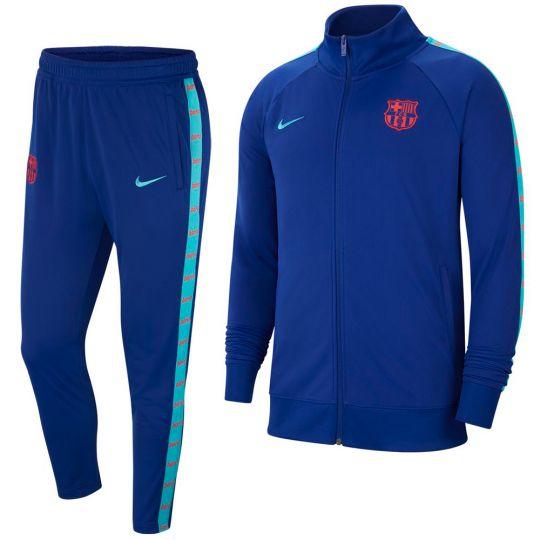 Nike FC Barcelona JDI Trainingspak 2021 Blauw Lichtblauw