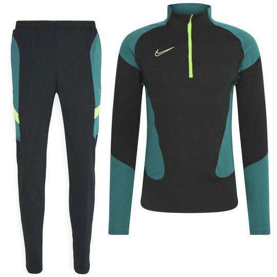 Nike Dri-FIT Academy Drill Trainingspak Zwart Groen