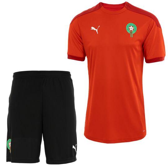 PUMA Marokko Trainingsset 2020-2021 Rood Zwart