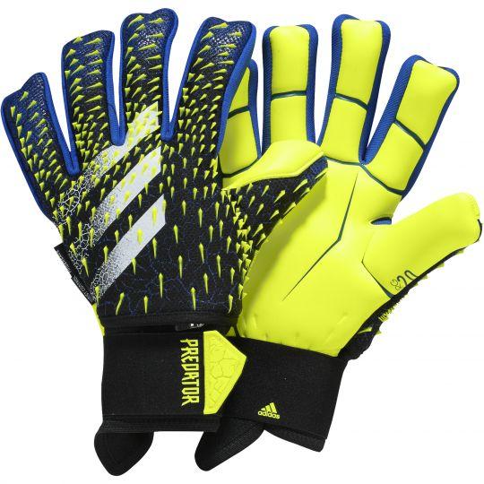 adidas Predator Pro Ultimate Keepershandschoenen Zwart Blauw Geel