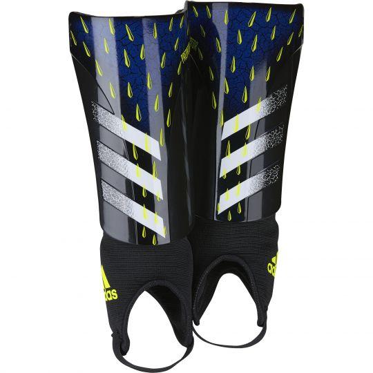 adidas Predator Match Scheenbeschermers Kids Zwart Wit Geel