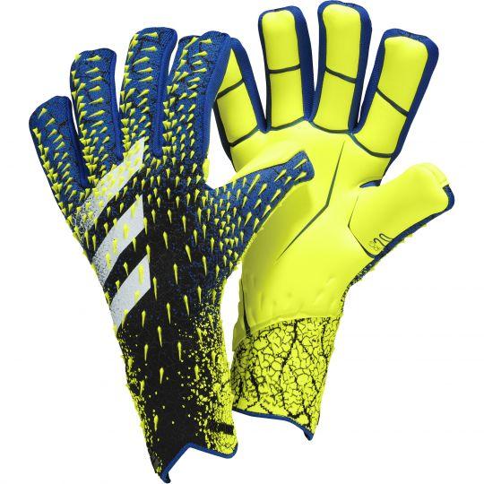 adidas Predator Pro Keepershandschoenen FS Zwart Blauw Geel