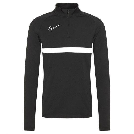 Nike Academy 21 Dri-Fit Trainingstrui Zwart Wit