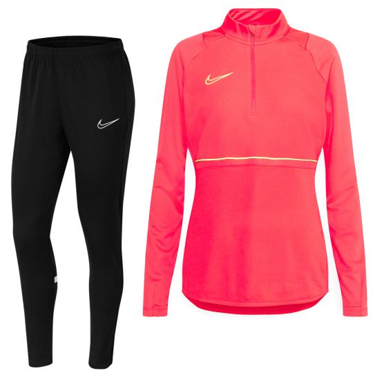 Nike Academy 21 Trainingspak Vrouwen Roze Zwart