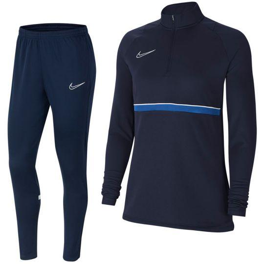 Nike Academy 21 Drill Trainingspak Vrouwen Donkerblauw
