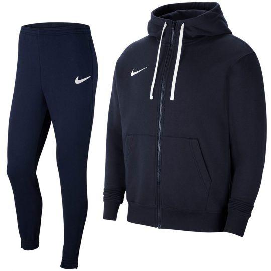 Nike Park 20 Fleece Full-Zip Trainingspak Donkerblauw