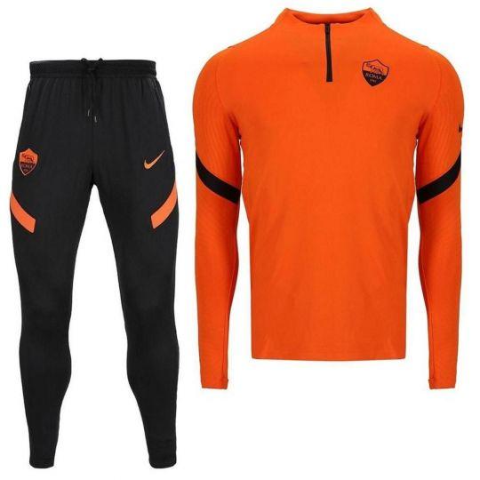Nike AS Roma Strike Trainingspak 2020-2021 Kids Oranje Zwart