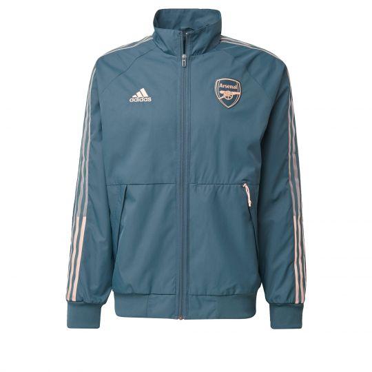 adidas Arsenal Anthem Jack 2020-2021 Donkergroen