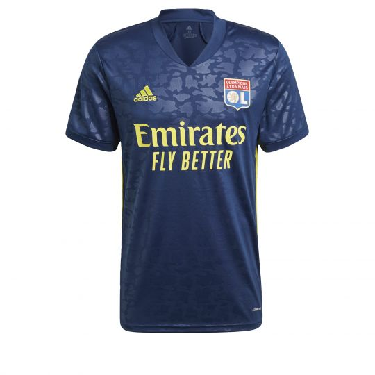 adidas Olympique Lyonnais Derde Shirt 2020-2021 Donkerblauw