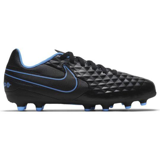 Nike Tiempo Legend 8 Club Gras / Kunstgras Voetbalschoenen (MG) Kids Zwart Rood Blauw