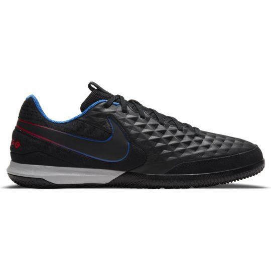 Nike Tiempo Legend 8 Academy Zaalvoetbalschoenen (IC) Zwart Rood Blauw