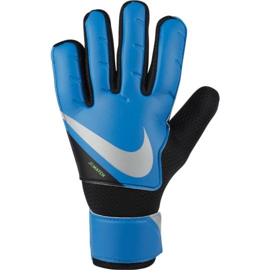 Nike Match Keepershandschoenen Kids Blauw Zwart Zilver