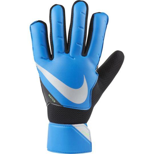 Nike Match Keepershandschoenen Blauw Zwart Zilver