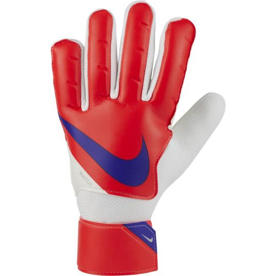 Nike Match Keepershandschoenen Rood Donkerblauw Wit