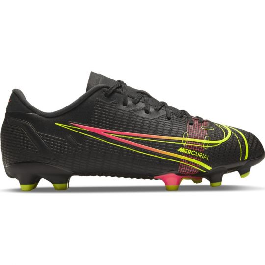 Nike Mercurial Vapor 14 Academy Gras / Kunstgras Voetbalschoenen (MG) Kids Zwart Geel
