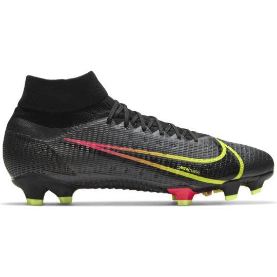 Nike Mercurial Superfly 8 Pro Gras Voetbalschoenen (FG) Zwart Geel