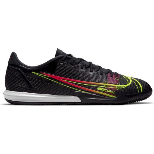 Nike Mercurial Vapor 14 Academy Zaalvoetbalschoenen (IC) Zwart Geel