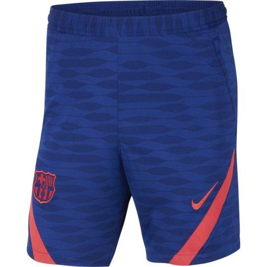 Nike FC Barcelona Strike Trainingsbroekje 2021 Kids Blauw Rood