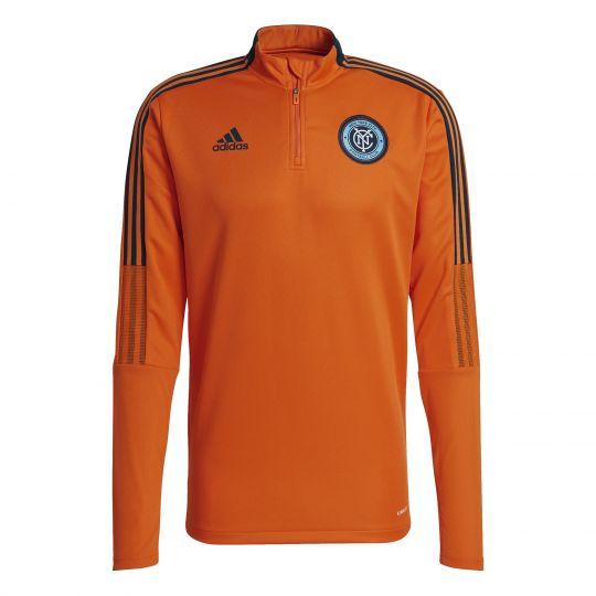 adidas New York City FC Trainingstrui 2021-2022 Oranje
