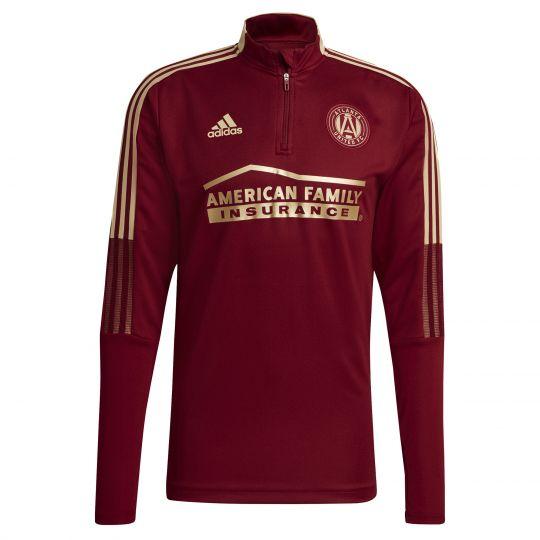 adidas Atlanta United FC Trainingstrui 2021-2022 Donkerrood