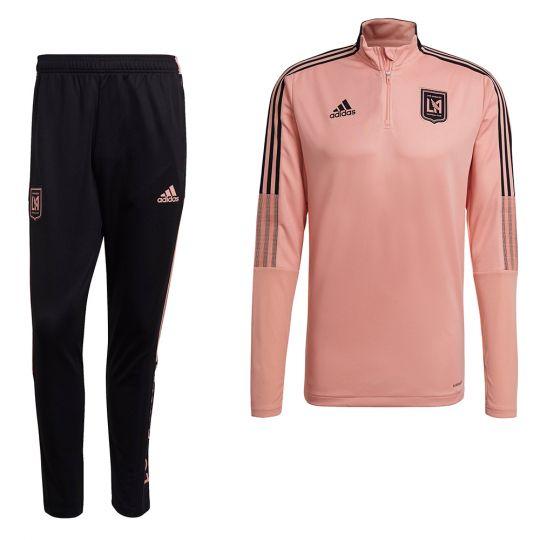 adidas Los Angeles FC Trainingspak 2021-2022 Roze