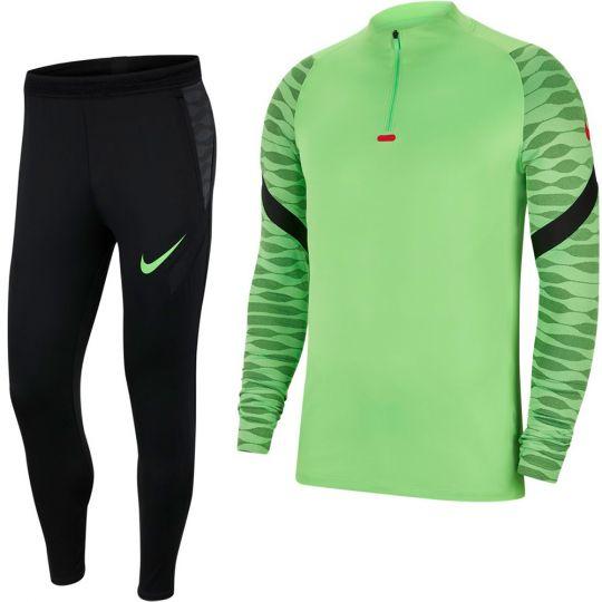 Nike Strike 21 Trainingspak Dri-Fit Groen