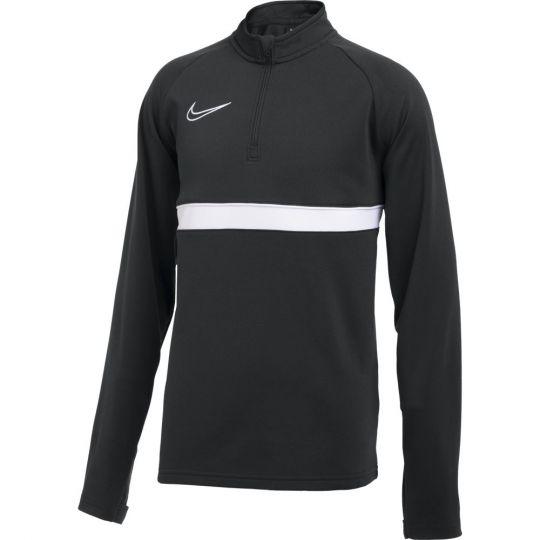 Nike Academy 21 Dri-Fit Trainingstrui Kids Zwart Wit
