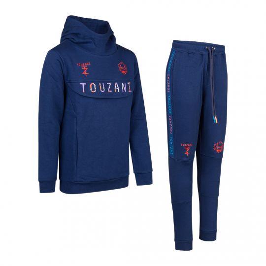 TOUZANI TZ Goals Trainingspak Kids Blauw