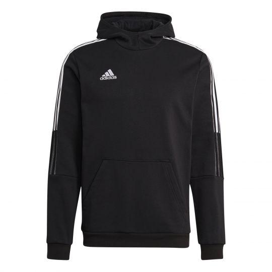 adidas Tiro 21 Sweat Hoodie Zwart Wit