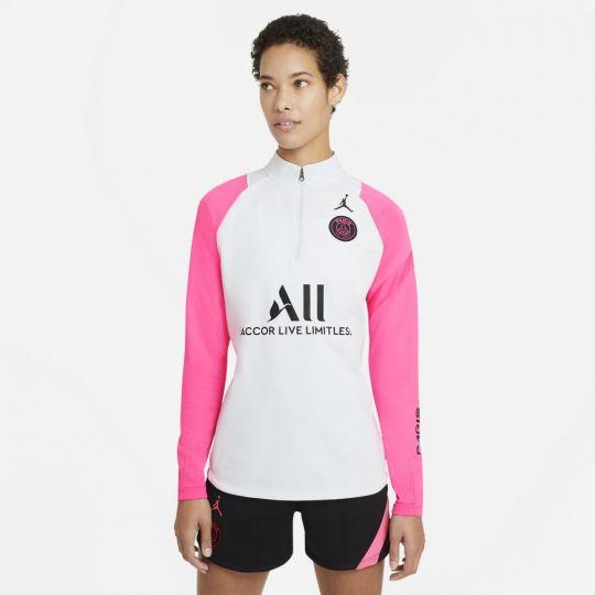 Nike Paris Saint Germain Academy Pro Trainingstrui 2021 Vrouwen Platinum Roze Zwart