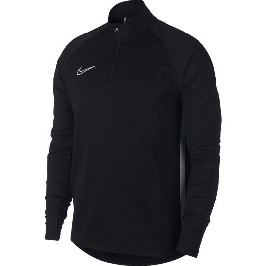 Nike Dry Academy Trainingstrui Zwart Wit