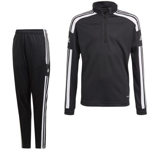 adidas Squadra 21 Trainingspak Zwart Wit