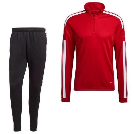 adidas Squadra 21 Trainingspak Rood Wit