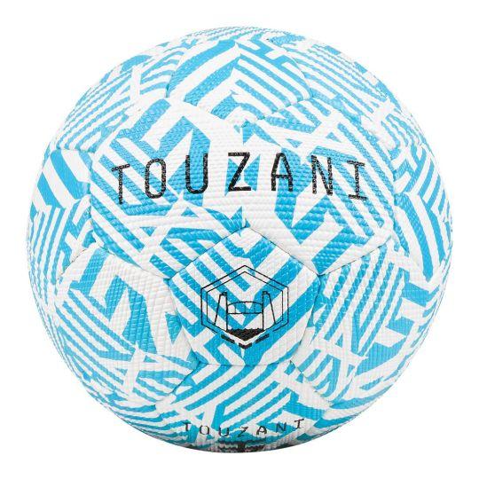 Touzani Straat Voetbal Maat 5 Lichtblauw Wit
