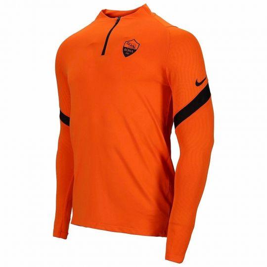 Nike AS Roma Dry Strike Trainingstrui 2020-2021 Oranje