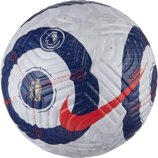 Nike Flight Elite Premier League Officiële Voetbal Maat 5 Wit Blauw Rood