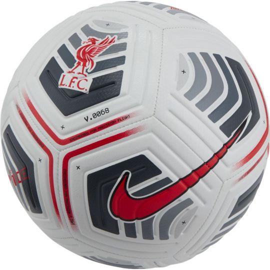 Nike Liverpool Strike Voetbal Maat 5 Wit Grijs Rood