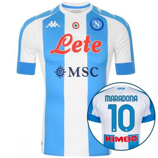 Kappa Napoli Maradona Pro 4th Voetbalshirt 2020-2021