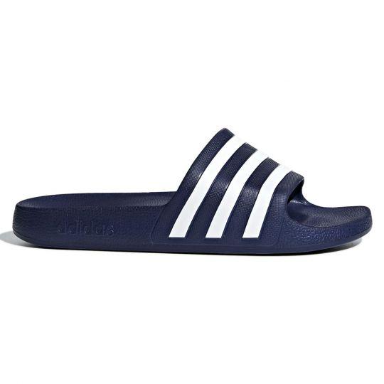 adidas Adilette Aqua Slippers Donkerblauw Wit
