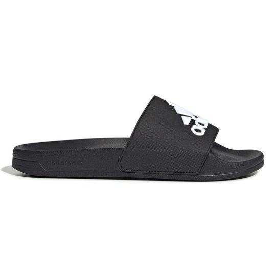 adidas Adilette Shower Badslippers Zwart Wit
