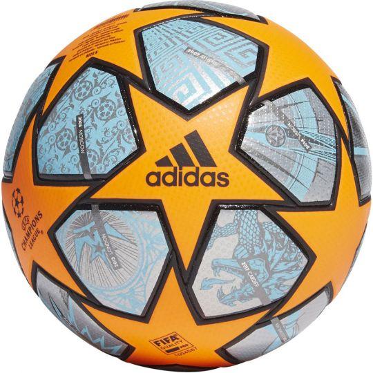 adidas Champions League Finale 21 Officiële Voetbal Maat 5 Oranje Blauw Zwart