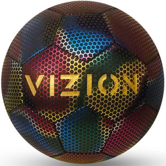 Vizion Reflecterende Voetbal Maat 5 Multicolor