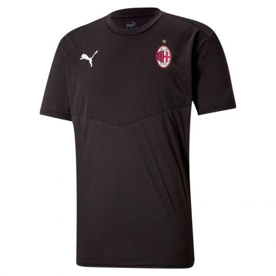 PUMA AC Milan Evostripe T-Shirt 2021 Zwart Rood