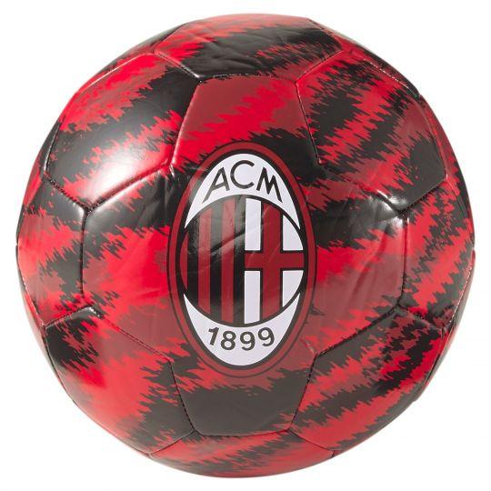 PUMA AC Milan Iconic Big Cat Voetbal Maat 5 Rood Zwart