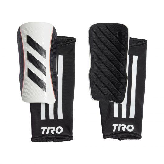 adidas Tiro League Scheenbeschermers Kids Wit Zwart