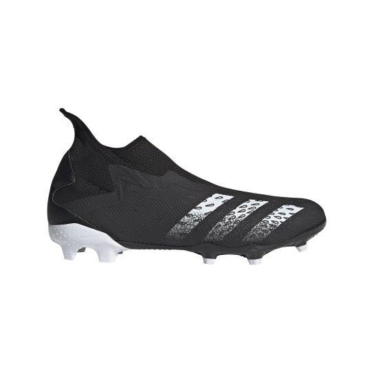 adidas Predator Freak.3 LL Gras Voetbalschoenen (FG) Zwart Wit Zwart