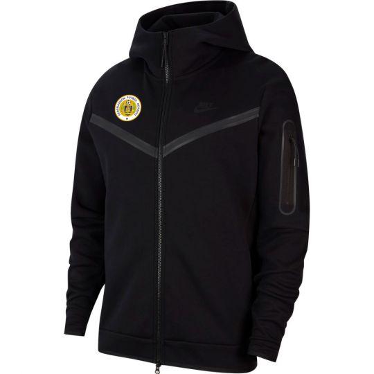 Nike Curacao Tech Fleece Hoodie Full Zip Zwart